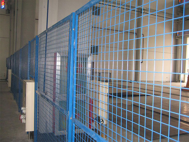 边框护栏网施工工艺