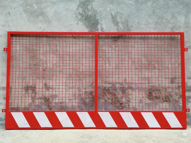 红白竖管基坑防护栏一米需要多少混凝土