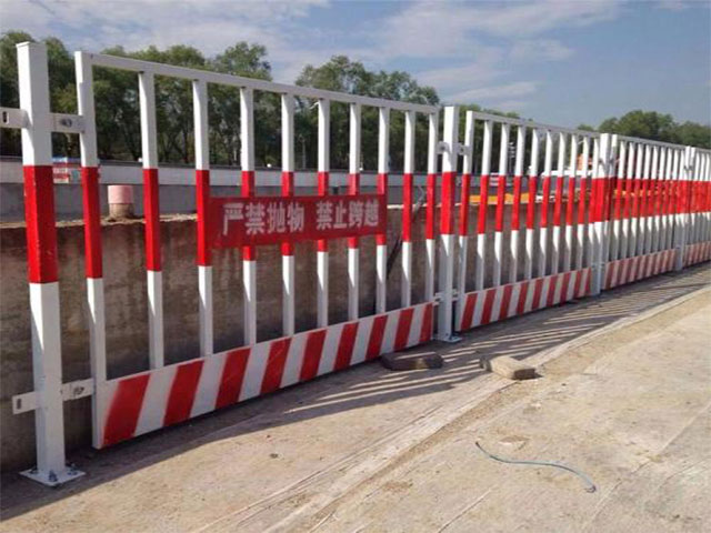 基坑护栏安装过程详解