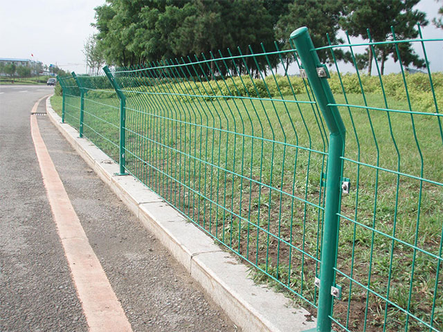 金属护栏网安装机械