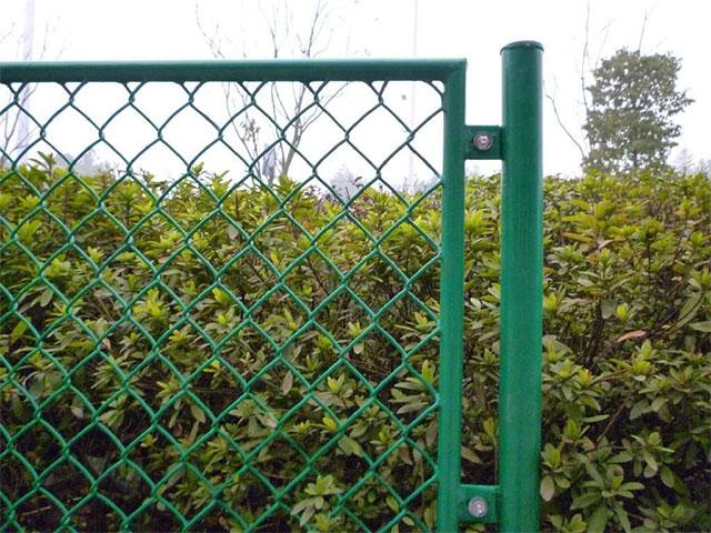 菱形护栏网安装施工