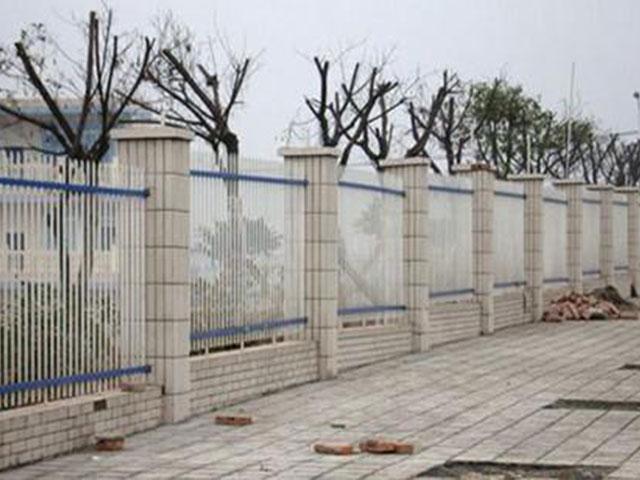 小区围墙栅栏高度该多少